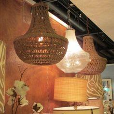 Ahh! The macrame chandelier is soo good!