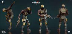 ArtStation - Modern Combat Versus Character - Gameloft, KEOS MASONS - Marco Plouffe