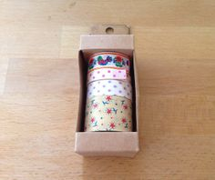 Washi paper tape set of four