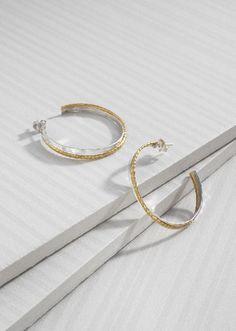 Overlapping Hoop Earrings