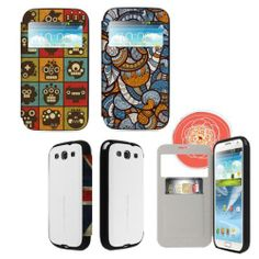 [Gram Pics] NAYANA View Flip Bumper Phone Case for Galaxy s4/note1,2,3_200263