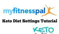 My Fitness Pal Keto Diet Settings