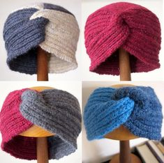 knitting pattern - Great Little Gifts to Knit giveaway Knitting Designs, Knitting Patterns Free, Knit Patterns, Free Knitting, Knitting Projects, Knitted Necklace, Knitted Headband, Knitted Hats, Learn To Crochet