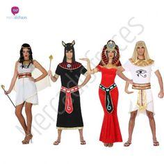 #Disfraces de Carnaval de #Faraones para grupos.  Disfraces para grupos y #comparsas, infórmate de nuestros descuentos para grupos.