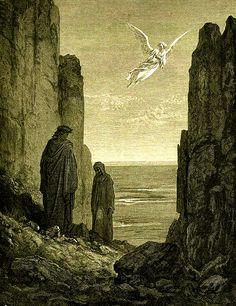 nigra-lux: DORÉ, Gustave (1832-1883)Illustration for the Divine Comedy (Purgatorio, canto XIX, vv. 52-54)EngravingEd. Orig.