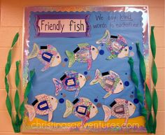teaching kids about friendship with the Rainbow Fish #teaching