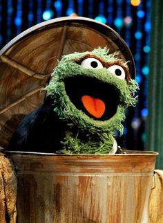 Oscar the Grouch Sage Green Bedroom, Oscar The Grouch, The Muppet Show, Jim Henson, Comic, Baby Love, Cincinnati, Nostalgia, Honey