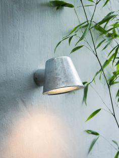 NEW Galvanised Port Light - Outdoor Lighting - Outdoor Living