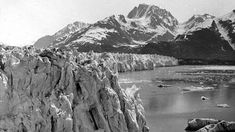Muir Glacier & Inlet in (1895) - Photos of Alaska Then And Now. Get Ready to Be Shocked When You See What it Looks Like Now.