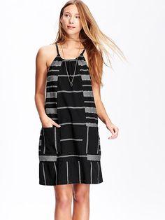 Women's Jacquard Shift Dresses