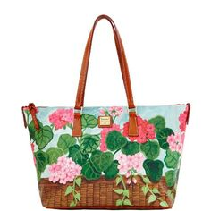 Dooney & Bourke Zip Top Shopper, Pink