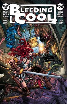 Bleeding Cool Magazine #26, Out For January 2017 – And Predicting The Rest Of The Year!