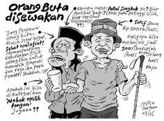 Mice Cartoon, Kompas 8 Maret 2015: Orang Buta Disewakan