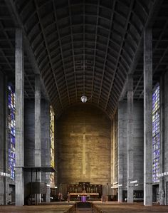 """Fabrice Fouillet: """"I wished to highlight the architectural aesthetic of the new places of worship and  their hymn to minimalism, which has represented a genuine creative inspiration in modern religious architecture..."""""""