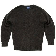 For AW12 Pendleton produce this knitted crew neck, made from machine washable Shetland wool the knit comes with ribbed neck, hem and cuffs and is an ideal layer for the winter.