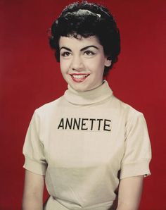 Annette Funicello, the dark-haired darling of TV's ¿The Mickey Mouse Club¿ in the 1950s who further cemented her status as a pop-culture icon in the '60s by teaming with Frankie Avalon in a popular series of ¿beach¿ movies has died. She was 70.