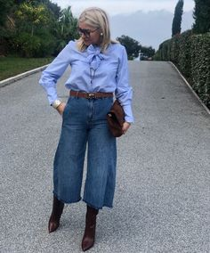 Casual Chic Outfits, Classy Casual, Classic Outfits, Casual Looks, Fifties Fashion, 50 Fashion, Fashion Outfits, Womens Fashion, Preppy Mode