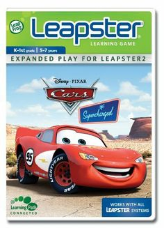 LeapFrog Leapster Learning Game Cars Supercharged by LeapFrog. $17.19. There are lots of obstacles to overcome when driving through the forest, but you can put your car on the fast track by choosing the correct answer.. Catch up to Mack by honking at motor homes with the right letters.. Answer reading and spelling questions to tune up for the Radiator Springs Invitational Race!. Zip around cacti and tumbleweeds as you bump the cars with the right plural ending.. Kids ...