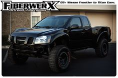 05+ Nissan Frontier to Titan conversion kit.   Where was this when I had my 05 Frontier?