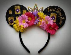 Best Day Ever Rapunzel Lantern Flower Minnie Mouse inspired