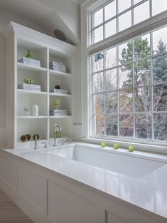 Traditional bathroom 418482990370718255 - Renovated home in Colorado unveils a New England chic style Source by RichardJRizzo Bathroom Windows, Bathroom Renos, Bathroom Renovations, Bathroom Ideas, Bathroom Cabinets, Bathroom With Window, Bathroom Signs, Bathroom Vanities, Bathroom Organization