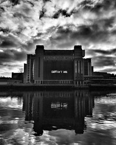 """Doing a bit of typography research at the Baltic Gallery Newcastle. """"Satisfy Me"""" by artist Monica Bonvicini #balticgallery #monicabonvicini #art #typography #fineart #type #lettering #exhibition #font #tyne #river #gateshead #photography #signage"""