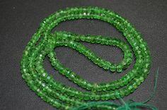 48 ct Natural Tsavorite Green Garnet faceted by GauravExports