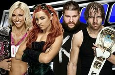 Charlotte, Becky Lynch, Kevin Owens & Dean Ambrose. Love all four of them but i wish Becky could've won the title but glad Dean kept his