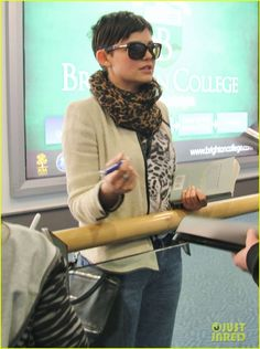 Ginnifer Goodwin is one of ashley's favorite actresses who inspired her pixie cut