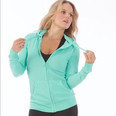 Electric Yoga Thermal Hoodie ⚡️ Super cute thermal hoodie by Electric Yoga! Material is 65% cotton, 34% Polyester, 1% spandex.  I have 1 S, 1M & 3L. IMO they run pretty fitted so you may want to size up if you want it loose. I think the material is slimming when fitted though :)  ***Do not buy this listing, comment with your size and I'll create one for you*** Electric Yoga Tops Sweatshirts & Hoodies