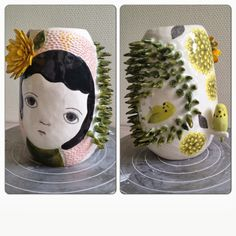 nathalie choux: mon improbable vase !