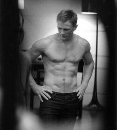 Daniel Craig. Love him as James Bond!