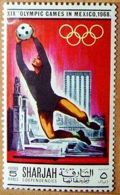 Emiratos Árabes Unidos-Olimpíadas México 1986