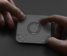 Touchtable on Behance [trend:circular] [trend:matte rubbery finish]