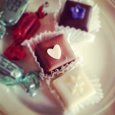 Wedding Petit Fours. Or, in my case, Petit Sevens.