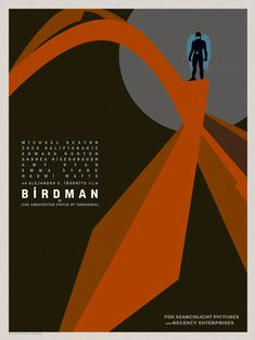 """Birdman"" Goes Coast To Coast In Gorgeous Posters For Alejandro González Iñárritu's Genre-Defying New Film Oscar Winning Films, Film Images, Internet Movies, Alternative Movie Posters, Film Music Books, Love Movie, Event Photos, Film Posters, Film Movie"