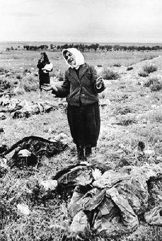 Russian Victims of German killings near Sebastopol, 1944