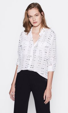 dc7fb180f17 Women's SIGNATURE SILK SHIRT made of Silk | Women's Clothing and  Accessories by Equipment
