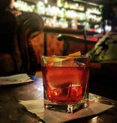 Negronos at Revelry! #negroniweek #negeoni #ginoclock #ginstagram #gin #craftgin #mancino #ginzealand #lovebucketbar #nzgin