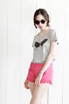 "Lookbook summer 2014 | wearelse. Remeron estampado ""cool Cat"""