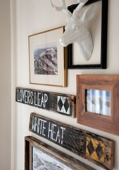 ***** Listing includes a set of 3 individual custom ski trail sign. Please e-mail me with your specific trail requests! ***** My family and I are big skiers. From east to west, Sunday River to Vail, there are ski trails that have meant a lot to our skiing Winter Decor, Animal Room, Restaurant Decor, Reclaimed Lumber, Ski House Decor, Family Hobby, Mountain Lodge Decor, Mantel Decorations, Boys Bedroom Makeover