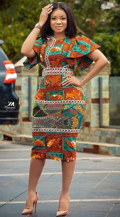 Serwaa Amihere in African fashion dress