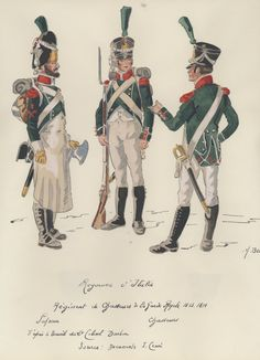 Kingdom Of Italy, Italian Army, Army Uniform, French Empire, Troops, Soldiers, French Revolution, Napoleonic Wars, Military Art