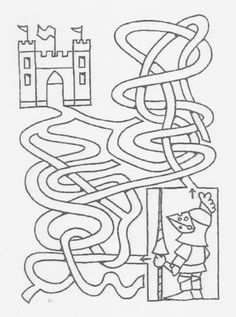 Risultati immagini per ridder rikki Fairy Tale Theme, Fairy Tales, Castle Party, Mazes For Kids, Knight Party, Coloring Pages For Boys, Coloring Sheets, Toddler School, Medieval Times