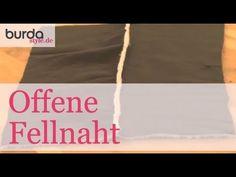 burda style: Offene Fellnaht