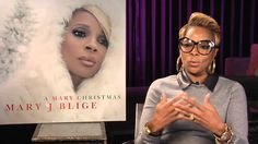 Mary J Blige discusses her album, A Mary Christmas.