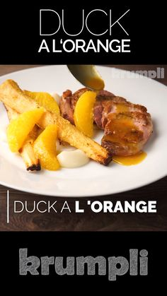 Welcome to another retro throwback recipe, Duck a l Orange may hark back to the dinner parties but it still has a relevant place on any dinner table if you ask me! Best DIY Incubators for 2020 Roasted Duck Recipes, Meat Recipes, Healthy Dinner Recipes, Indian Food Recipes, Chicken Recipes, Cooking Recipes, Roast Duck, Comfort Food, Orange Recipes