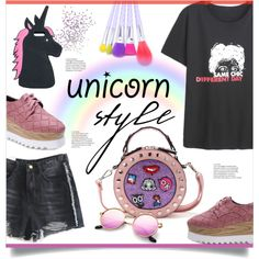 How To Wear To be a Unicorn Outfit Idea 2017 - Fashion Trends Ready To Wear For Plus Size, Curvy Women Over 20, 30, 40, 50
