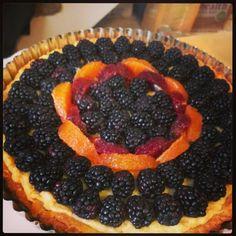 All done! Blackberry Citrus Mascarpone Tart. 62/365