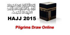 Hajj 2015 Results Online « Urdu Books, Latest Digests, magazines  Ministry has provided an easy approach to the pilgrims who applied for Hajj 2015, they can see the online status of their application,,,, if their group is successful then they also will be informed via SMS, to view the information CNIC and application number is required, put information in the below boxes and then click on Search Tab. Ballot was held on 14 May 2015 after 3 PM and results are available since 7 PM of 14 May 2015.  The Total Pilgrims of Pakistan will perform Hajj 2015 are 143000 and under Govt scheme are 71500 while 71500 under private scheme.